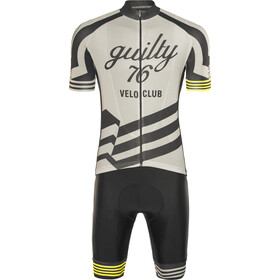guilty 76 racing Velo Club Pro Race Set d'autocollants Homme, grey